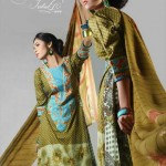 Zardozi Prints Exclusive collection 2012-13 by Eiza Lawn UA Textile