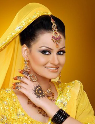 bridal tattoos shoot By Javeria Abbasi