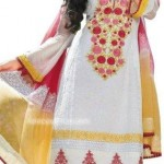 cotton lawn dresses collection 2012 for women
