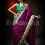 mansha saree collection 2012 for eid ul fitre