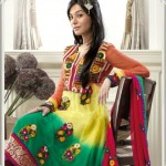 Anarkali Frocks Designs 2012 by Gorgeous