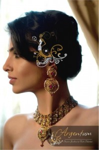 Argentum Fashion Shoots For Designer Jewellery by Nadia Chhotani
