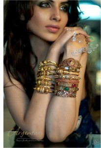 Argentum Fashion Shoots For Designer Jewellery by Nadia Chhotani 2012