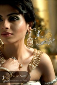Argentum Fashion Shoots For Designer Jewellery for bridals