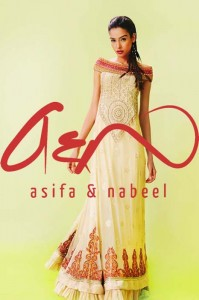 Asifa Nabeel BRIDAL Wear Dresses latest Collection 2013-12