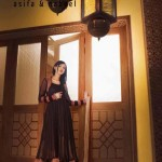 Asifa Nabeel Women Party Wear FROCKS Dresses latest Collection 2013-12