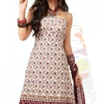 Astonishing Flora Patterned Crepe Salwar Suit By Designer Cotton Dress