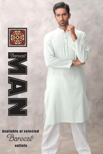 Bareeze Man kurta salwar collection 2012 for Men