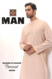 Bareeze Man summer kurta salwar 2012 for Men