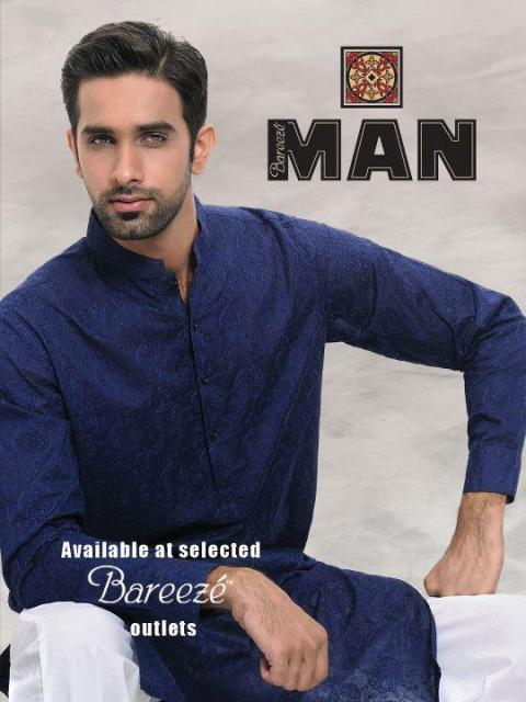 Bareeze Man summer kurta salwar collection 2012 for Men