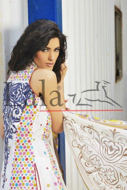 Brocade Lawn Collection by Lala Textiles 2012 for Summer