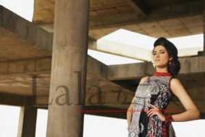 Brocade Summer Lawn Collection 2012 by Lala Textiles for Girls