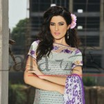 Brocade Summer Lawn Collection by Lala Textiles 2012-13 for Girls
