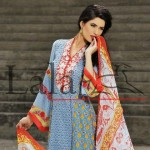 Brocade Summer Lawn Collection by Lala Textiles 2012 for women