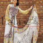 Brocade Summer Lawn Dresses by Lala Textiles 2012 for women