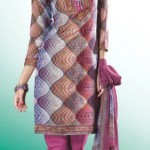Casual Printed Salwar Kameez dresses 2012 For Girls