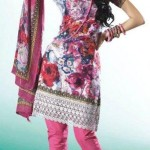 Casual Printed Salwar Kameez eid Collection 2012 For Girls