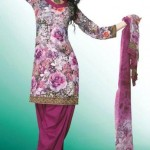Casual Printed Summer Eid Salwar Kameez Collection 2012