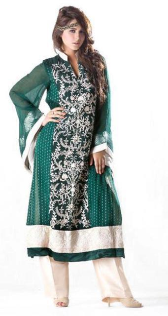 Design3r Dress Beautiful Eid wear collection 2012 for women