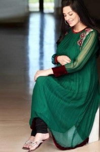 Design3r Dress Latest Eid wear collection 2012 for women
