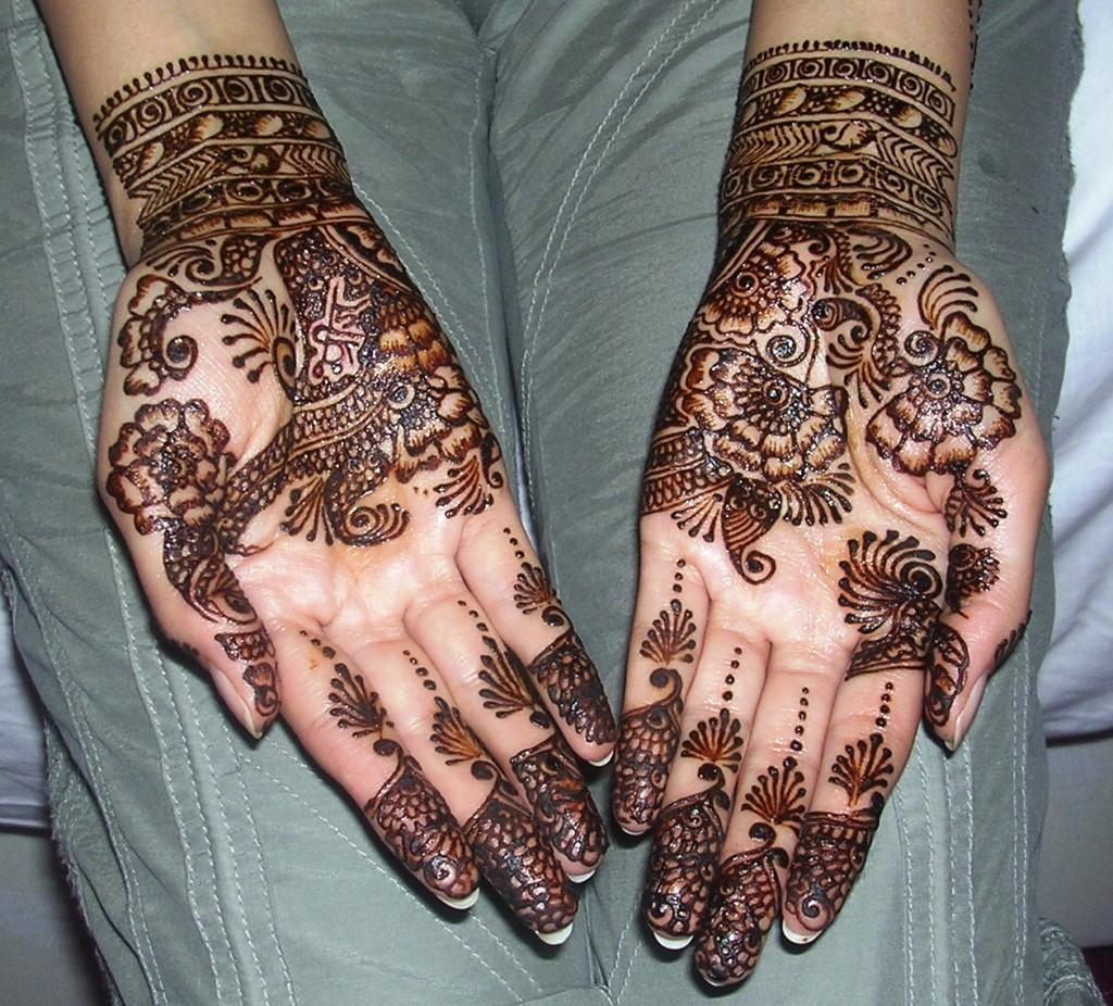 Eid Henna Designs For Bridals