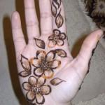 Eid Henna Designs For Girls