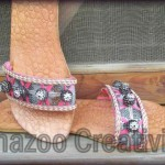 Eid Summer New Kolhapuri Shoes Collection 2012 By Shazoo Creativity