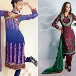 Eid Wear Desi Dresses Collection 2012 For Women and Girls