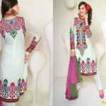 Eid Wear Dresses Collection 2012 For Girls