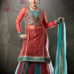 Eid wear Lehenga collection 2012 for Kids
