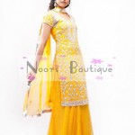 Exclusive Mehndi Dresses Collection 2012 by Noorz Boutique