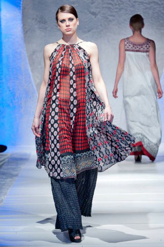 Fashion Week in London of Lala Textiles Summer Collection Pakistan 2012
