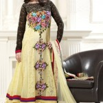 Glamorous Anarkali Frocks Designs 2012 For Eid Summer