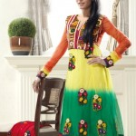 Glamorous Anarkali Frocks Designs 2012 For Eid Summer dresses