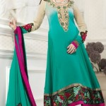 Glamorous Anarkali Frocks Designs 2012 For Eid collection