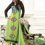 Glamorous Anarkali Frocks Designs For Eid 2012