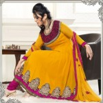 Gorgeous Anarkali Frocks Designs 2012-13 for women