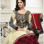 Gorgeous Anarkali Frocks Designs 2012