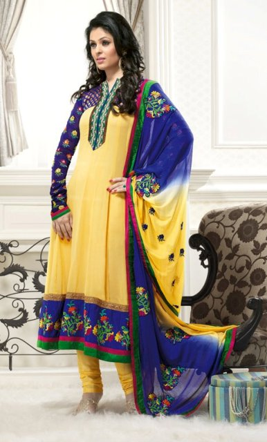 Gorgeous Anarkali Frocks Designs 2012 New Fashion Trend of Girls