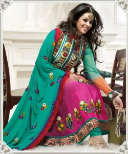Gorgeous Anarkali Frocks Designs 2012 for women
