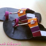 Hand Made Kolhapuri Footwear Eid 2012 For Girls