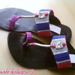 Hand Made Kolhapuri Footwear Eid 2012 For Women
