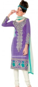 Hot Summer Cotton Suits with Chiffon Dupatta 2012 collection for women