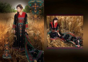 Ittehad Catalogue summer lawn dress collection 2012