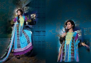 Ittehad Catalogue summer lawn prints 2012