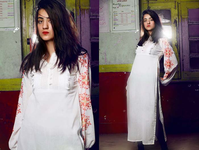 Kause Kaza White color Eastern Summer Dresses Collection 2012-2013