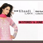Khaadi's Mid-Summer Lawn Collection 2012-13