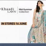 Khaadi's Mid-Summer Lawn Collection 2012