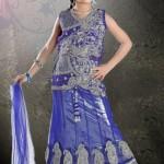 Kids Eid wear saree collection 2012
