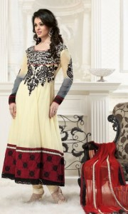 Latest Gorgeous Anarkali Frocks Designs 2012 New Fashion Trend of women